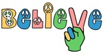 Believe in Peace Shirts