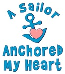 A Sailor Anchored My Heart T-shirt