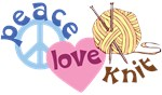 Peace Love Knit T-shirts
