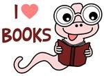 I Love Books Shirts