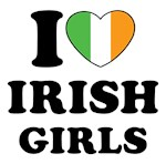 I Heart Irish Girls Shirts