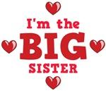 I'm The Big Sister Toddler Shirts