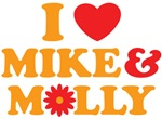 I Love Mike & Molly Shirts