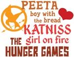Peeta and Katniss Shirts