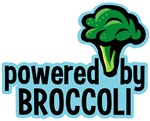 Powered By Broccoli T-shirts