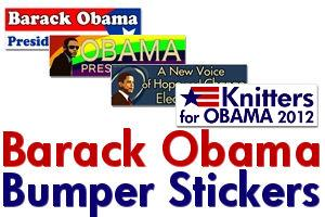 Barack Obama Bumper Stickers