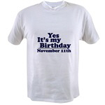 T-Shirts for November Birthdays