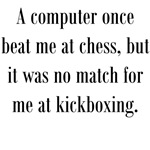 Computer vs Kickboxing