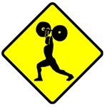 Weightlifter Crossing