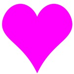 Simple Pink Heart