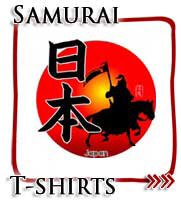 Japanese Samurai Kanji T-shirts and Gifts