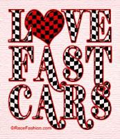 I love fast cars!