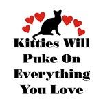 Kitties Will Puke