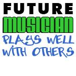 Future Musician Plays Well With Others