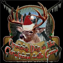 opening day is like Cristmas with guns