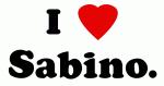 I Love Sabino.