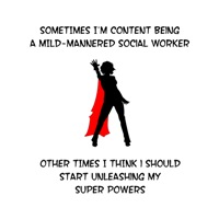 Superheroine Social Work