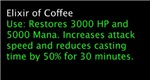 Elixir of Coffee---SALE