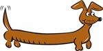 Doxie Cartoon (dachshunds)