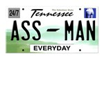 Tennessee Ass Man License Plate