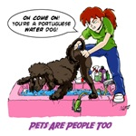 Groomer Humor - Reluctant Bather