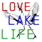 LOVE LAKE LIFE - WADING BIRD