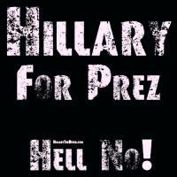 Hillary - Hell No!