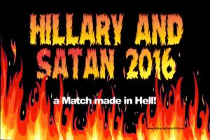 Hillary and Satan 2016