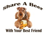  AIREDALE SHARES A BEER