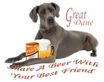 Share A Beer With Your Great Dane