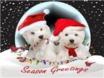 Westie Pals Christmas Fun