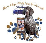 Bluetick Coonhound Share A Beer