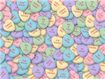 Personalized Candy Heart Valentine Special