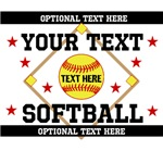 Personalized Your Team Softball