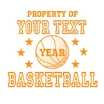 Property of Your Team Basketball