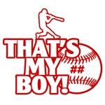 That's My Boy Personalized Baseball