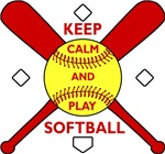 Keep Calm and Play Softball