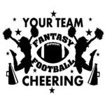 Copy of Fantasy Football Cheering Personalized