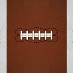 Football Lace Art Decor