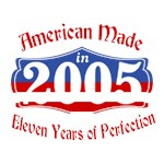 American Made 2005 11th Birthday Patriotic