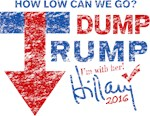 Dump Trump I'm with Her Hillary 2016