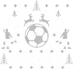 Soccer Ugly Christmas Sweater Party Original