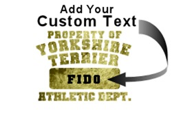 Personalized Yorkshire Terrier