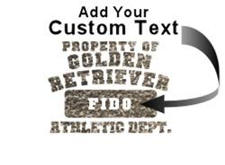 Personalized Golden Retriever