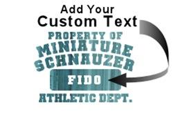 Personalized Miniature Schnauzer