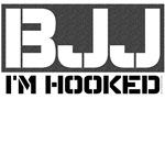 BJJ - I'm Hooked tshirts
