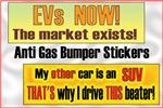Anti Gas Bumper Stickers