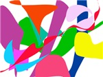 Colorful Abstract Wind