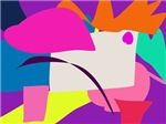 Colorful Abstract Purple