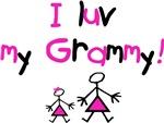 I luv my Grammy (pink)